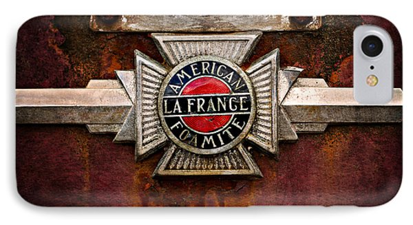 Lafrance Badge IPhone Case by Mary Jo Allen