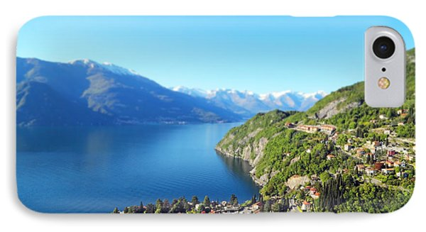 Lago Di Como Italy  IPhone Case by Brooke T Ryan