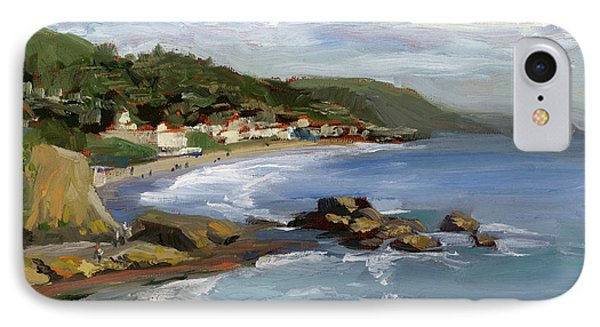 Laguna Beach Phone Case by Alice Leggett