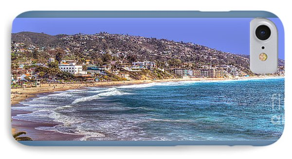 IPhone Case featuring the photograph Laguna Beach Coast Panoramic by Jim Carrell