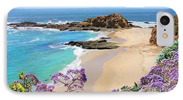 Laguna Beach Coastline IPhone Case by Jane Girardot