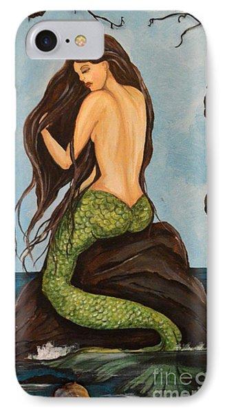Laguna Beach Mermaid Marina Phone Case by Valarie Pacheco