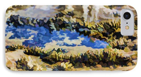 Laguna Beach Tide Pool Pattern 3 Phone Case by Scott Campbell