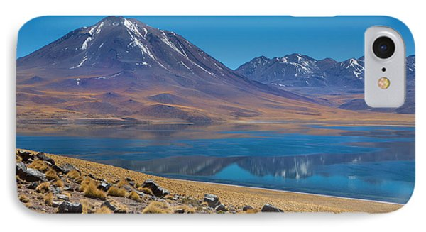 Laguna Miscanti IPhone Case