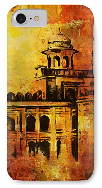Lahore Fort IPhone Case by Catf