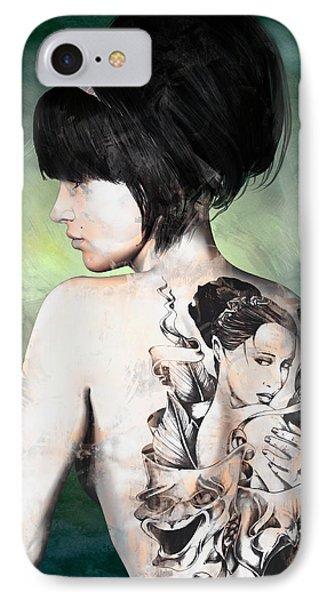 Laid Bare IPhone Case by Maynard Ellis