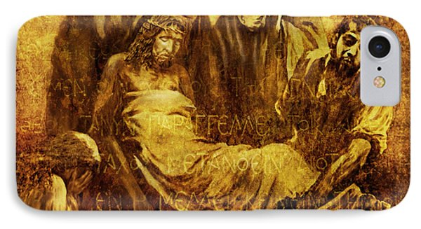 Laid_in_the_tomb Via Dolorosa 14 IPhone Case