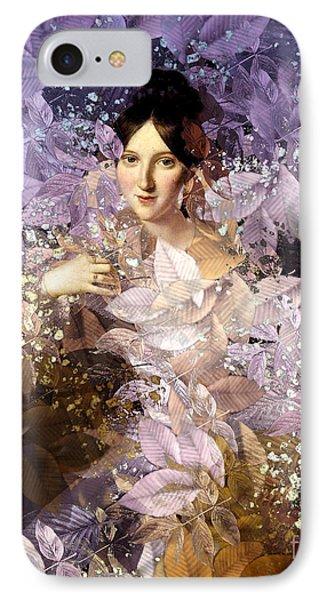 Laila - Des Femmes Et Des Fleurs IPhone Case