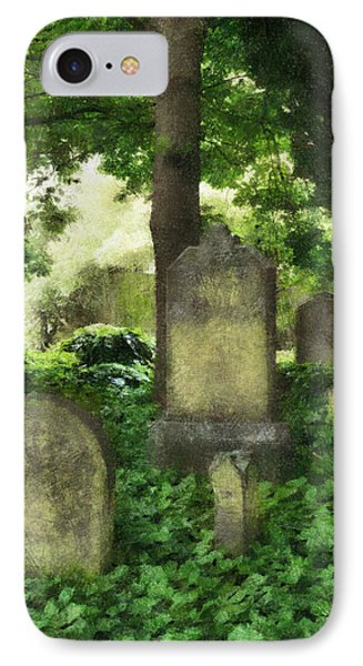 Lain Under An Ivy Blanket IPhone Case by Steve Taylor