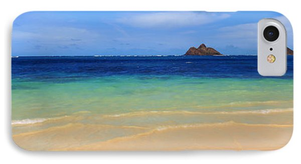 Lainki Beach, Oahu, Hawaii, Usa IPhone Case by Panoramic Images