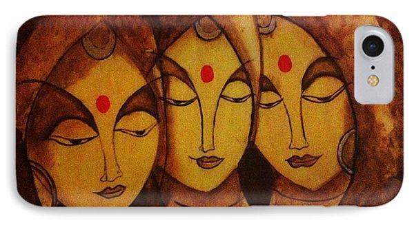 Lajja - The Indian Women Expression Phone Case by Shraddha Tiwari