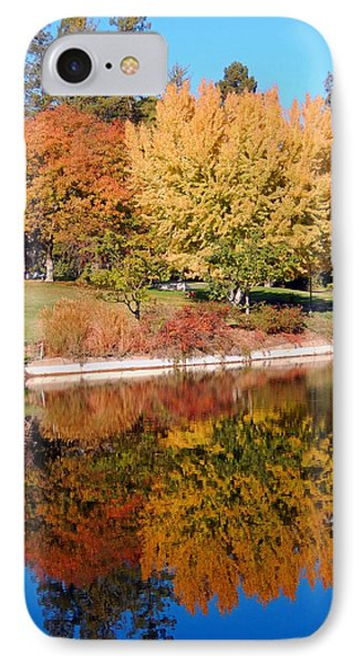Lake At Davis IPhone Case
