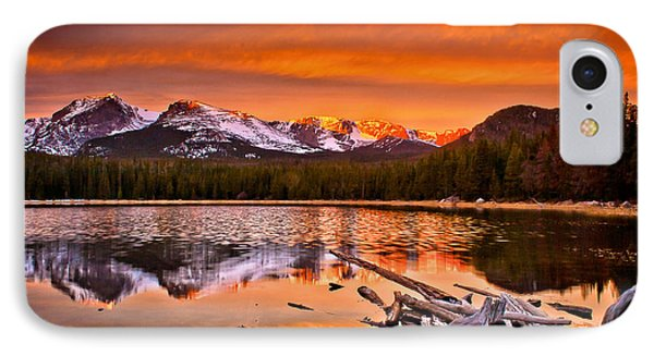 Lake Bierstadt In The Morn IPhone Case by Steven Reed