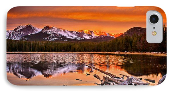 IPhone Case featuring the photograph Lake Bierstadt In The Morn by Steven Reed