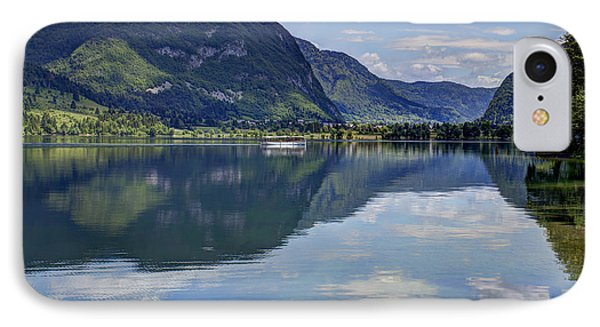 Lake Bohinj IPhone Case by Uri Baruch