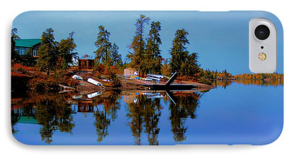 IPhone Case featuring the photograph Lake Brereton by Larry Trupp
