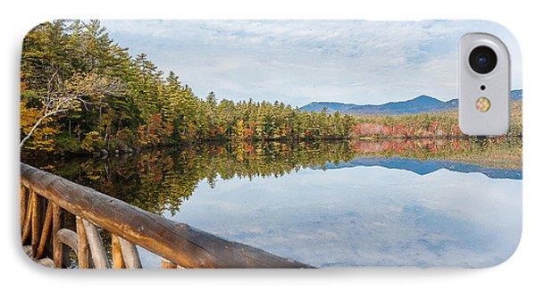 Lake Chocorua And Mount Chocorua From Bridge  Phone Case by Karen Stephenson