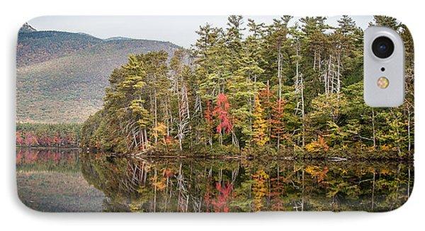 Lake Chocorua Reflection IPhone Case by Karen Stephenson