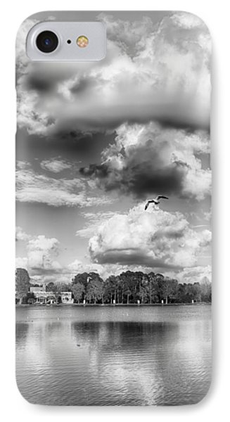 Lake De Soto IPhone Case by Howard Salmon