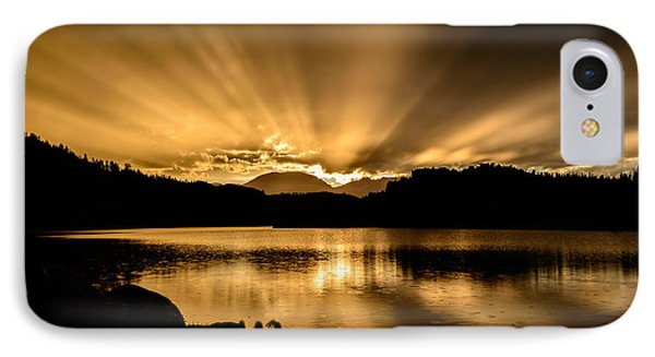 Lake Dillon Sunset IPhone Case by Michael J Bauer