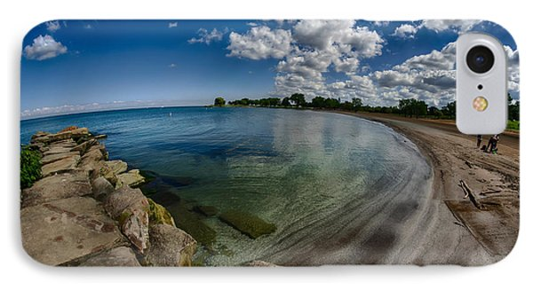 Lake Erie. Edgewater Park IPhone Case