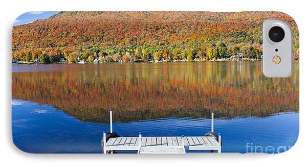 Lake Elmore Autumn IPhone Case