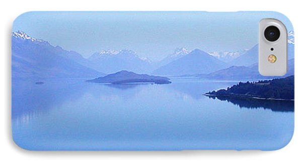 IPhone Case featuring the photograph Lake Glenorchy New Zealand by Ann Lauwers