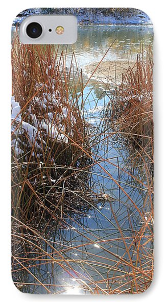 IPhone Case featuring the photograph Lake Glitter by Diane Alexander