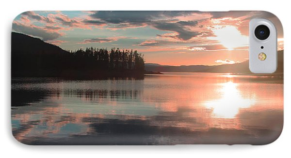 Lake Granby Sunset IPhone Case by Chris Thomas