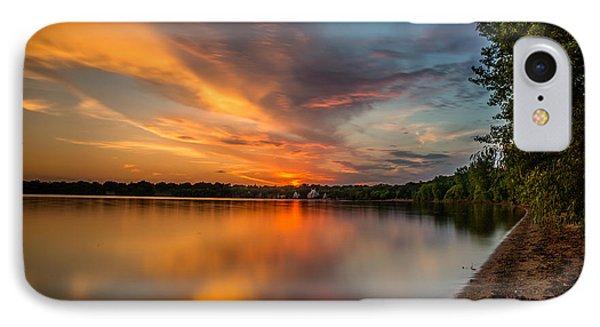 Lake Harriet Grand Finale Phone Case by Mark Goodman