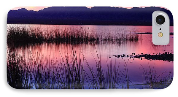 Lake Havasu Sunset IPhone Case by Eric Foltz