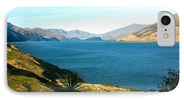IPhone Case featuring the photograph Lake Hawea by Stuart Litoff