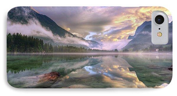 Lake Hintersee IPhone Case