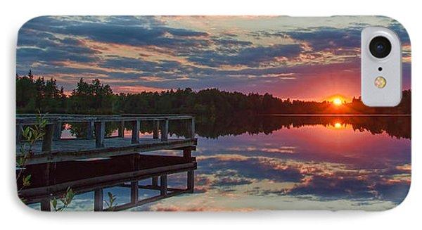 Lake Horicon Sunset 1 IPhone Case