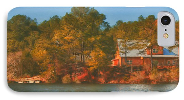 Lake House Phone Case by Brenda Bryant