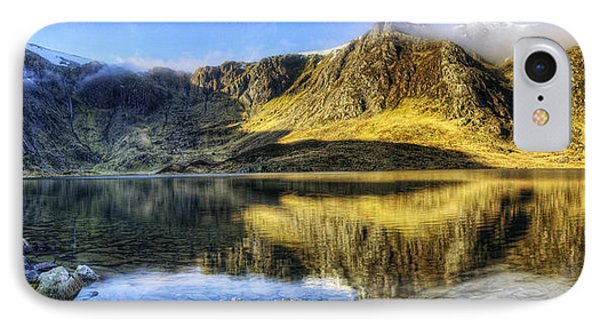 Lake Idwal Panorama Phone Case by Ian Mitchell