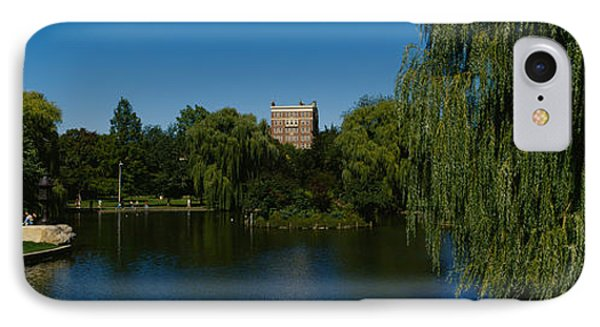 Lake In A Formal Garden, Boston Public IPhone Case by Panoramic Images