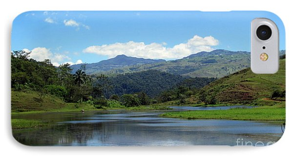 IPhone Case featuring the photograph Lake In Costa Rica by Irina Hays