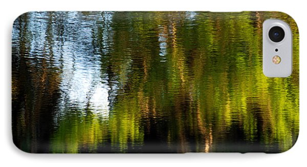 IPhone Case featuring the photograph Lake In Green by Lorenzo Cassina