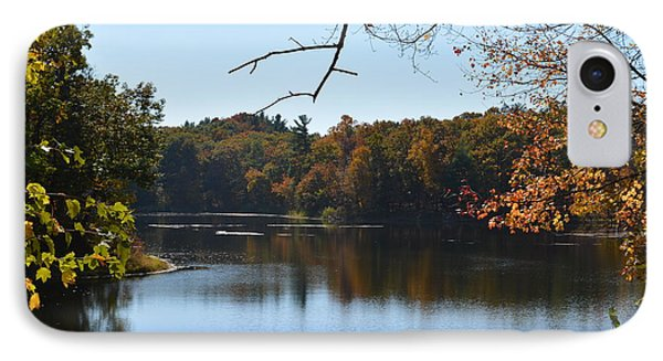 Lake In The Catskills IPhone Case by Kenneth Cole
