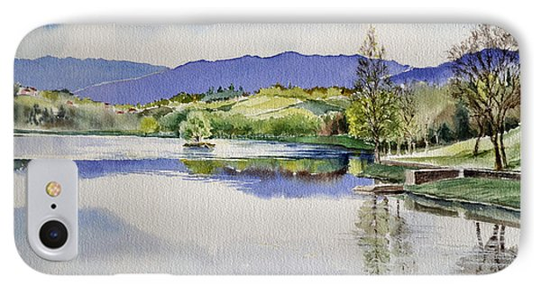 Lake In Tuscany IPhone Case