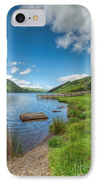 Lake In Wales Phone Case by Adrian Evans