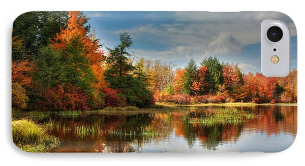 Lake Jean Reflections Phone Case by Lori Deiter