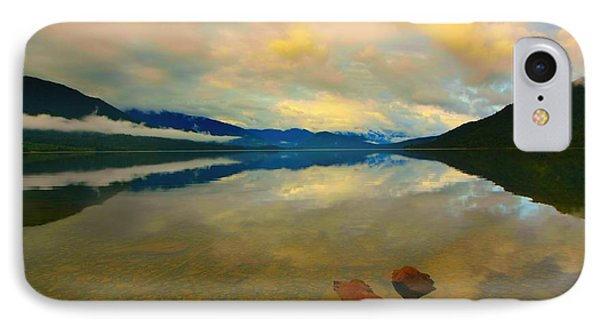Lake Kaniere New Zealand IPhone Case