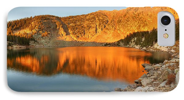 IPhone Case featuring the photograph Lake Katherine Sunrise by Alan Ley