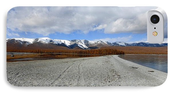 Lake Khuvsgul Mongolia IPhone Case by Diane Height
