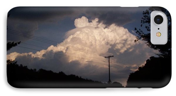 Lake Logan Thunderhead IPhone Case