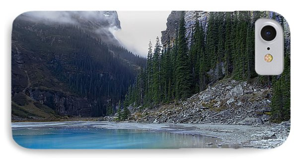 Lake Louise North Shore - Canada Rockies Phone Case by Daniel Hagerman