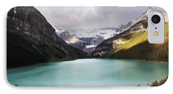 Lake Louise Panorama IPhone Case by Yuri Santin