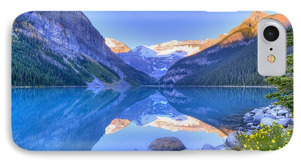 IPhone Case featuring the photograph Lake Louise by Wanda Krack
